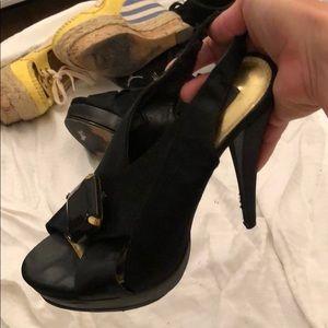 STEVEN high stiletto sandal sexy! Size 8